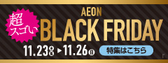 BLACK FRIDAY特集